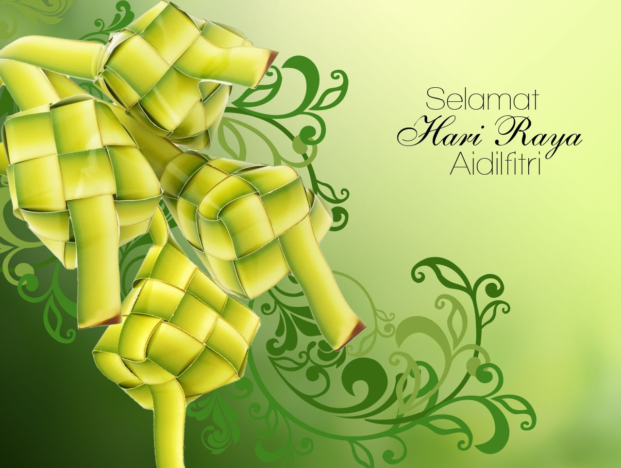 MESSAGE IN CONJUNCTION WITH  HARI RAYA CELEBRATION