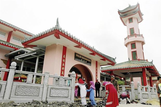 CNY in a Mosque: A Bridge-building Event