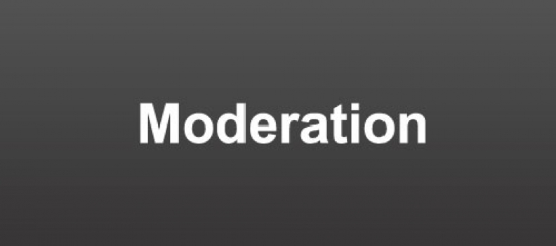IN PRAISE OF MODERATION
